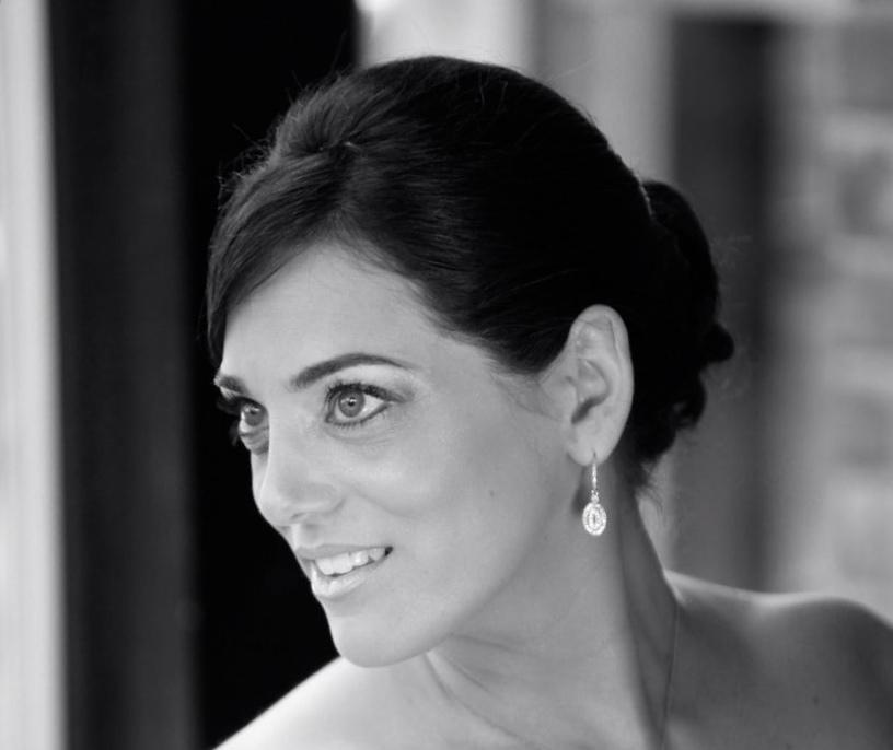 Marisa on her Wedding Day